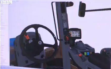 On spekuloitu että kuvassa olisi New Holland T9 sarjan ohjaamo.
